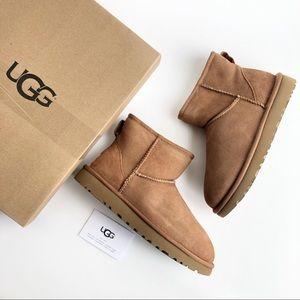 UGG Classic Mini II Short Chestnut Winter Boots